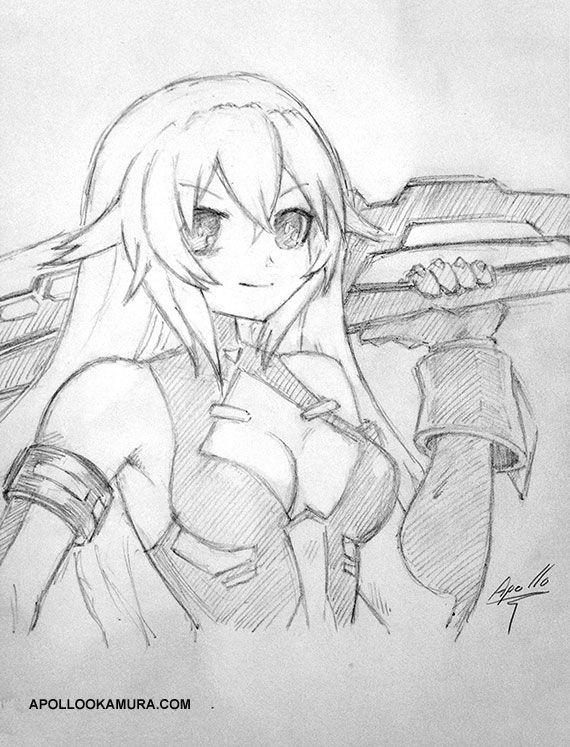 Black Heart Sketch
